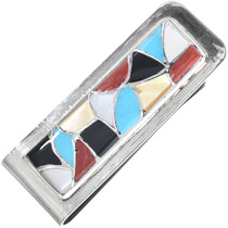 Zuni Turquoise Silver Money Clip 33141