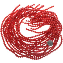 Bamboo Coral Beads 6mm Round 32752