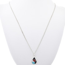 Sterling Silver Turquoise Pendant 33151
