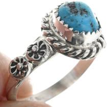 Turquoise Ring Navajo Benjamin Martinez 33155