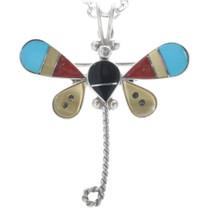 Zuni Dragonfly Pendant 33158