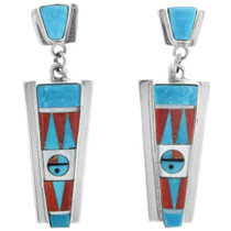 Zuni Turquoise Post Earrings 33170