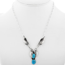 Roger Pino Navajo Turquoise Necklace 33174