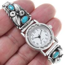 Kingman Turquoise Navajo Watch 33181