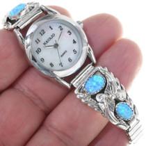 Sterling Silver Navajo Ladies Watch 33182