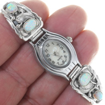 Native American Sterling Silver Ladies Watch 33183