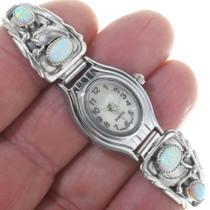 Native American Sterling Silver Ladies Watch 33183