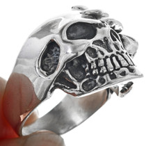 Claw Face Skull Ring 33189