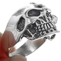 Claw Face Skull Ring 33189