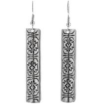 Sterling Silver French Hook Earrings 33194