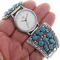 Natural Sleeping Beauty Navajo Watch 33201