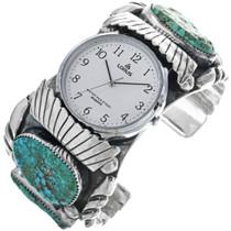 Arizona Turquoise Navajo Watch Cuff 33203