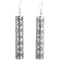 Native American Western Silver Earrings 33204
