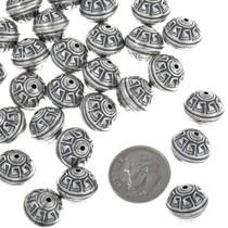 Silver Pattern Bead 32758