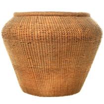 Hand Woven Olla Basket 33235