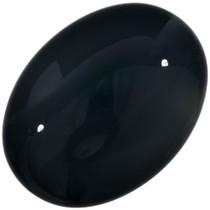 Large Black Onyx Cabochon 32772