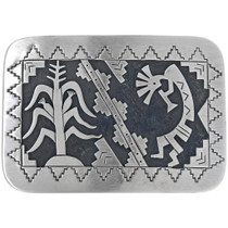 Native American Kokopelli Belt Buckle 33265