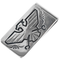 Navajo Thunderbird Money Clip 33274