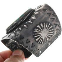 Vintage Navajo Turquoise Cuff Bracelet 33281