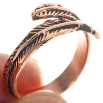 Navajo Feather Ring 33286