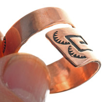 Hand Made Native American Ring 33287