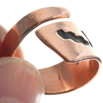 Native American Copper Ring 33288