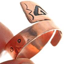Navajo Hand Made Overlay Ring 33290