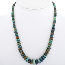Native American Turquoise Bead Necklace 33296