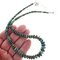 Navajo Turquoise Necklace 33296