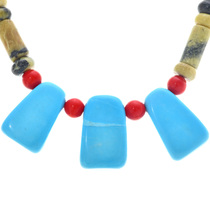 Turquoise Bead Necklace 33303