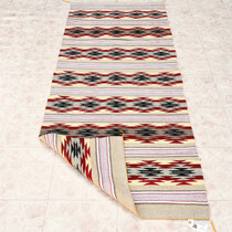 Navajo Chinle Stars Wool Runner Rug 33306