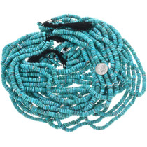 Untreated Turquoise Beads 32784