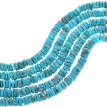 High Grade Natural Turquoise Heishi Beads 32785