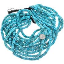 Kingman Turquoise Heishi Beads 32786