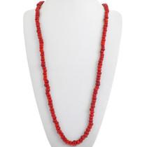 Vintage Mediterranean Coral Necklace 33309