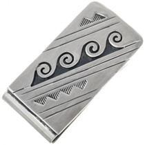 Navajo Water Pattern Money Clip 33311