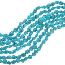 Arizona Turquoise Nugget Beads 32792