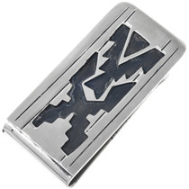 Navajo Rug Pattern Money Clip 33314