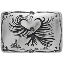 Navajo Eagle Belt Buckle 33315