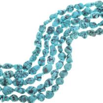 Spiderweb Turquoise Beads
