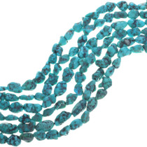 Natural Blue Green Turquoise Beads 32796