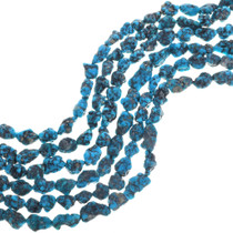 Natural Deep Blue Turquoise Beads 31967
