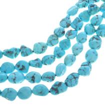 Natural Kingman Turquoise Beads 31968