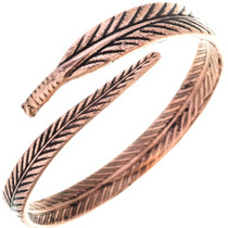 Ladies Wraparound Feather Bracelet 33328