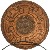 Hand Woven Pima Tribe Native American Basket 30500