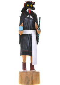 Vintage Hopi Warrior Maiden Kachina Doll 33339