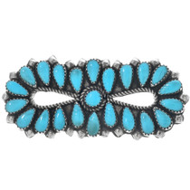 Navajo Turquoise Brooch Pin 33346