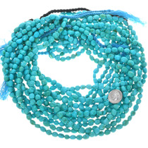 Natural Untreated Turquoise Beads 31972