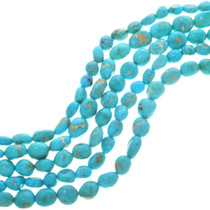 Natural Kingman Turquoise Beads 31976