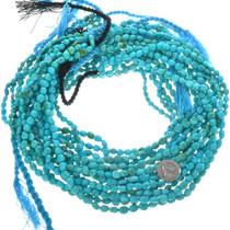 Kingman Turquoise Nugget Beads 31976